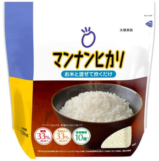 大塚食品 マンナンヒカリ 1.5kg
