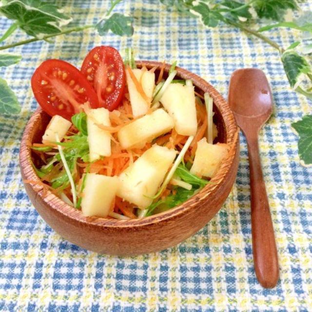 りんごのさっぱりサラダのレシピ