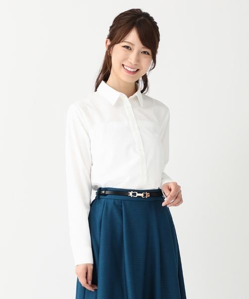 白いシャツを使ったコーデ