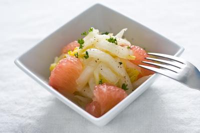 グレープフルーツ白菜マリネ