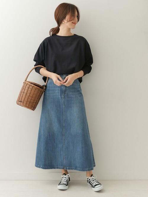 春の着痩せにおすすめのスカート