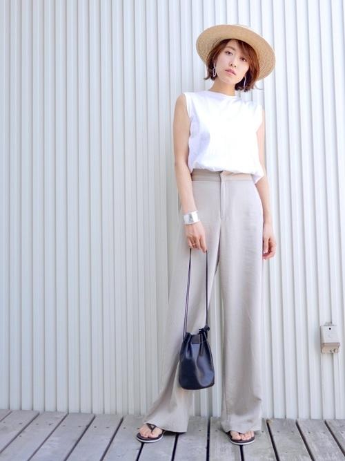 猛暑日におすすめの服装