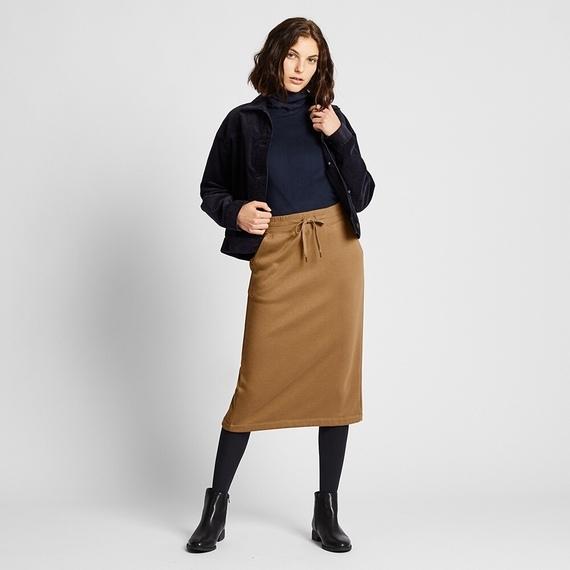 ユニクロのボアスウェットスカート