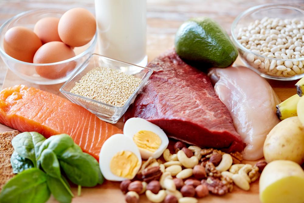 タンパク質が豊富な食材の写真