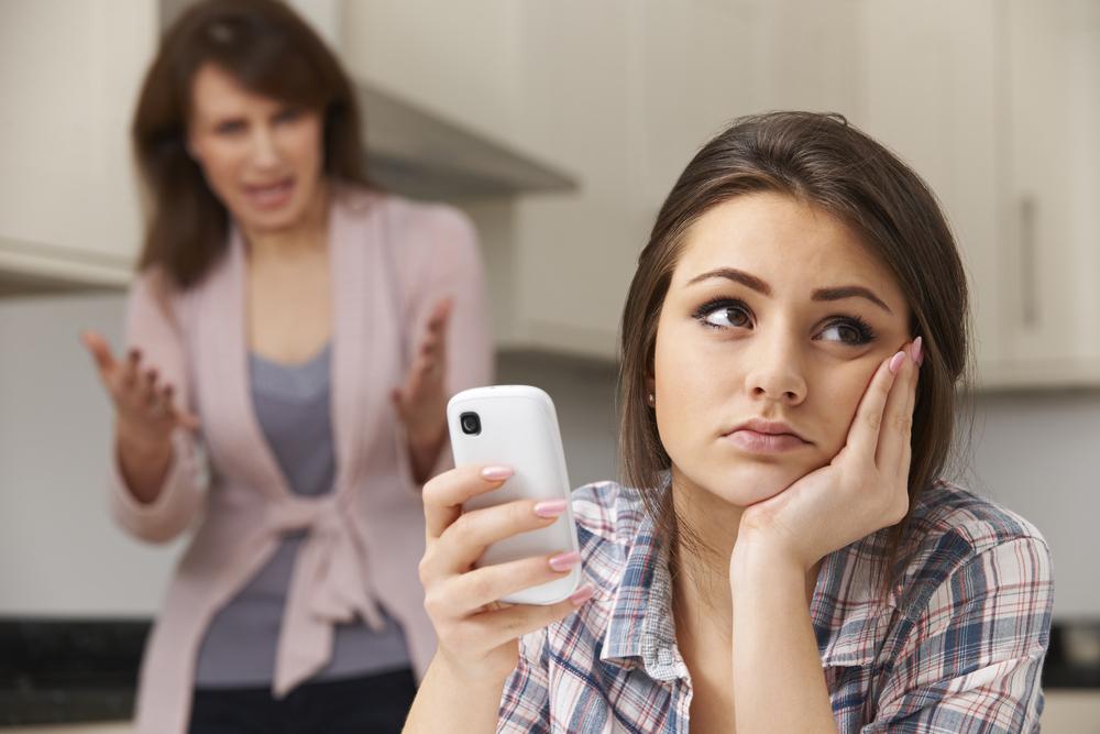 過干渉な親と娘