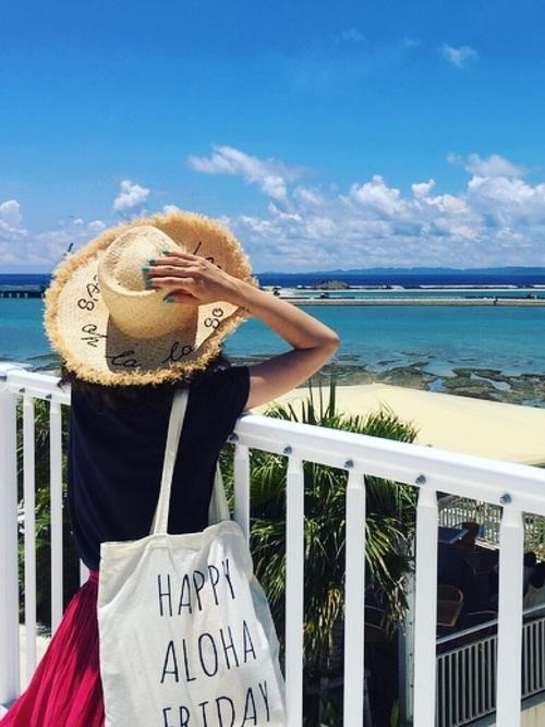 6月の沖縄コーデ
