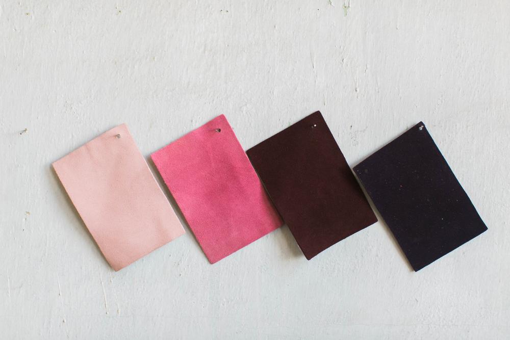 壁紙の素材と色