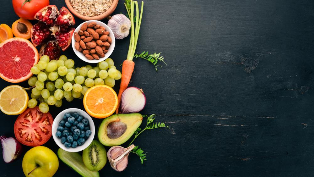 ビタミン豊富な野菜や果物