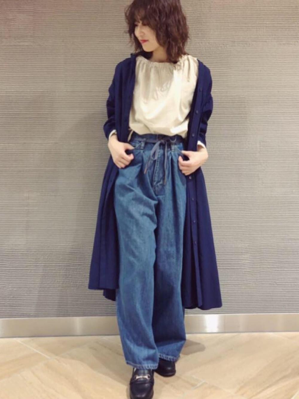 紺の羽織り