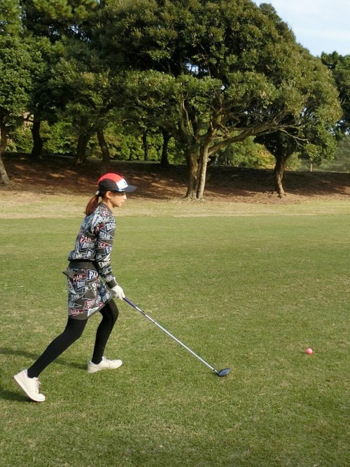ビームスゴルフのウェアのコーデ