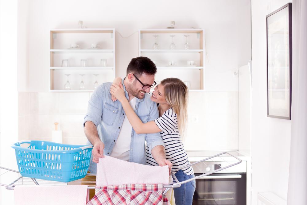 家事を分担している夫婦