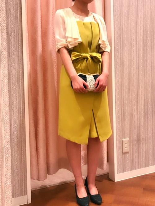 春のパーティー羽織コーデ