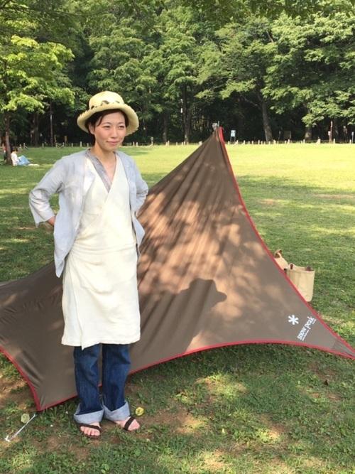 春のキャンプの服装