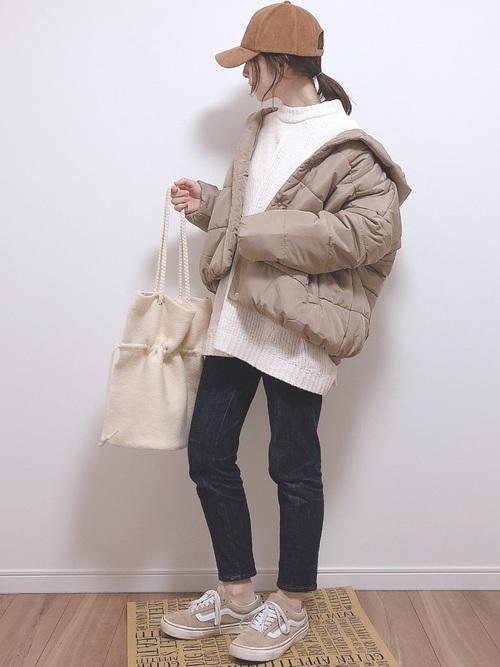 最低気温6度の日におすすめの服装②