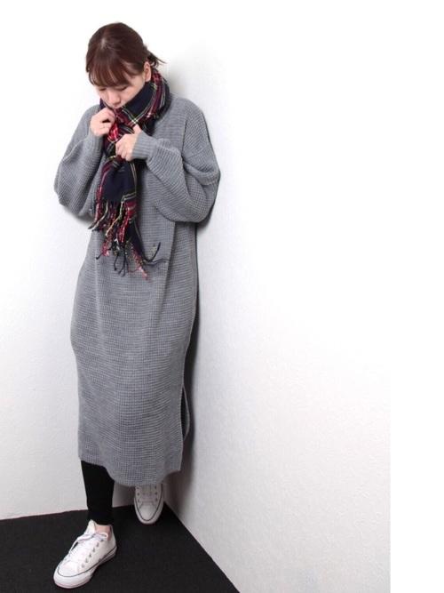 最低気温6度の日におすすめの服装③
