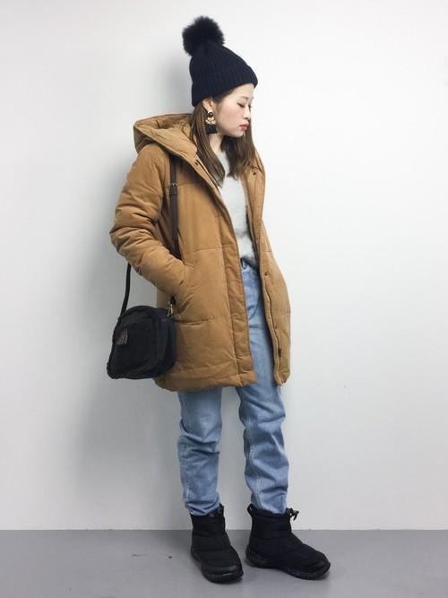 気温6度で天気は雨・雪の日におすすめの服装