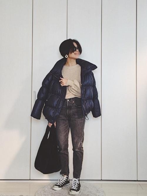 最高気温6度の日におすすめの服装③