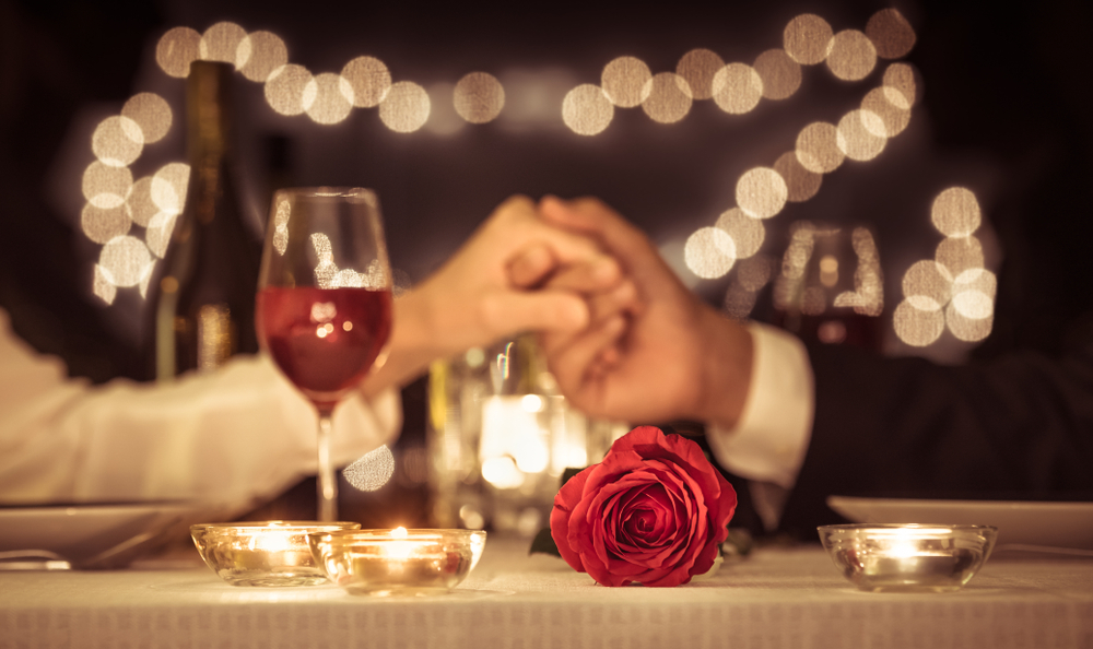 ロマンチックなディナーデート