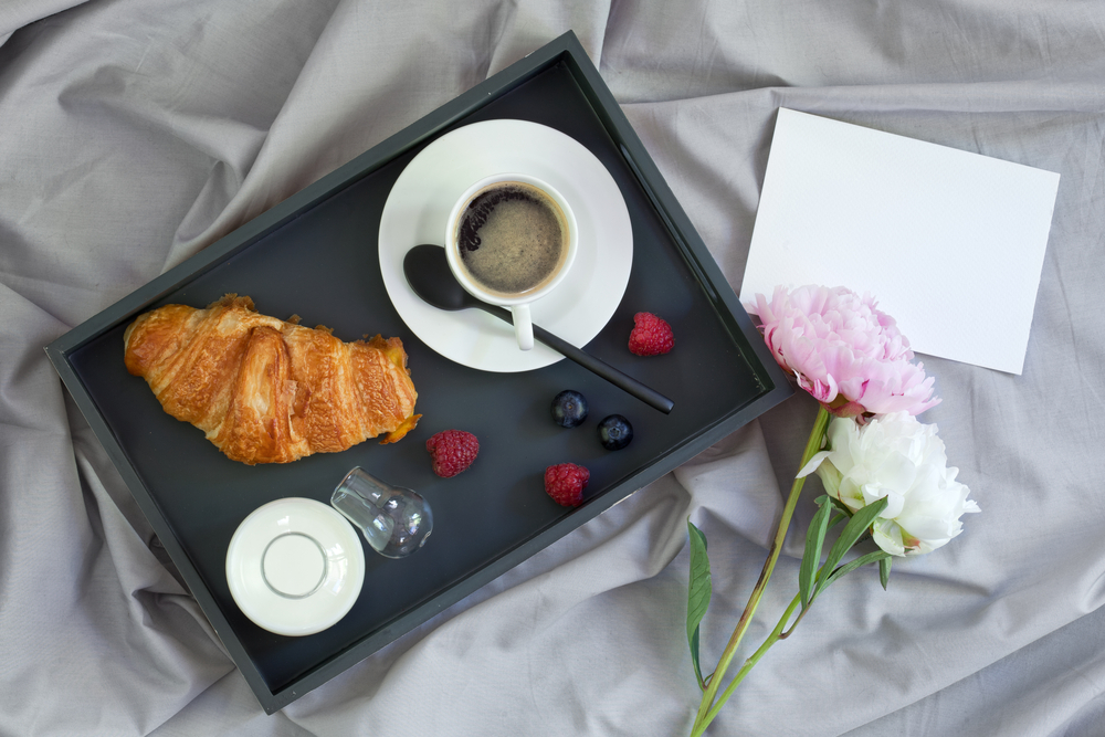 彼氏への朝食と手紙
