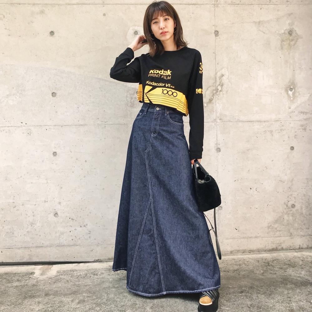 MM6maisonmargielaのデニムスカート