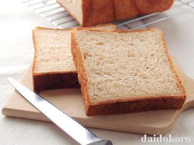 大豆粉を使った食パン