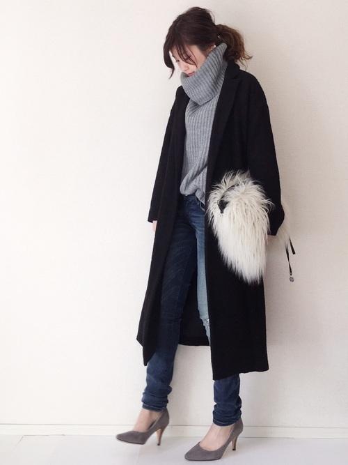 チェスターコートを使った5度の服装
