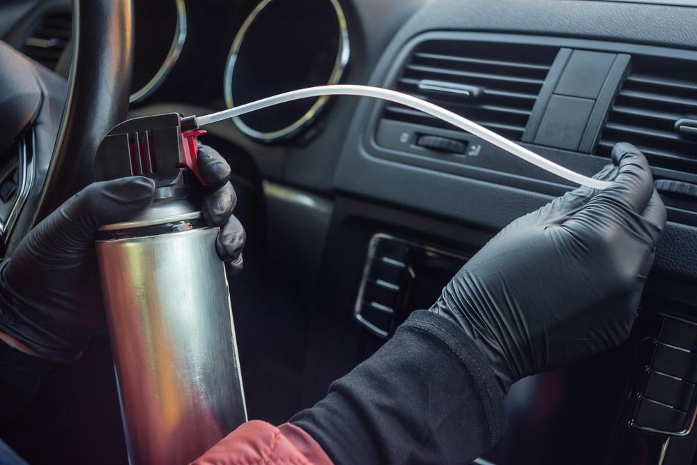 車のエアコンの掃除