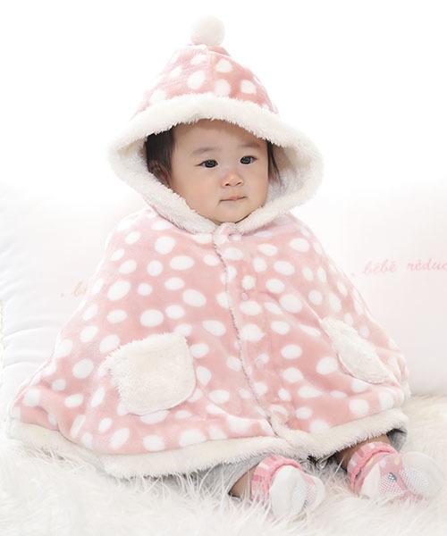 新生児向けの冬服コーディネート