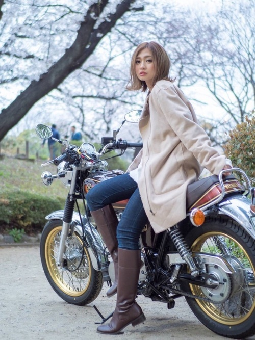 バイク教習に適した春の服装