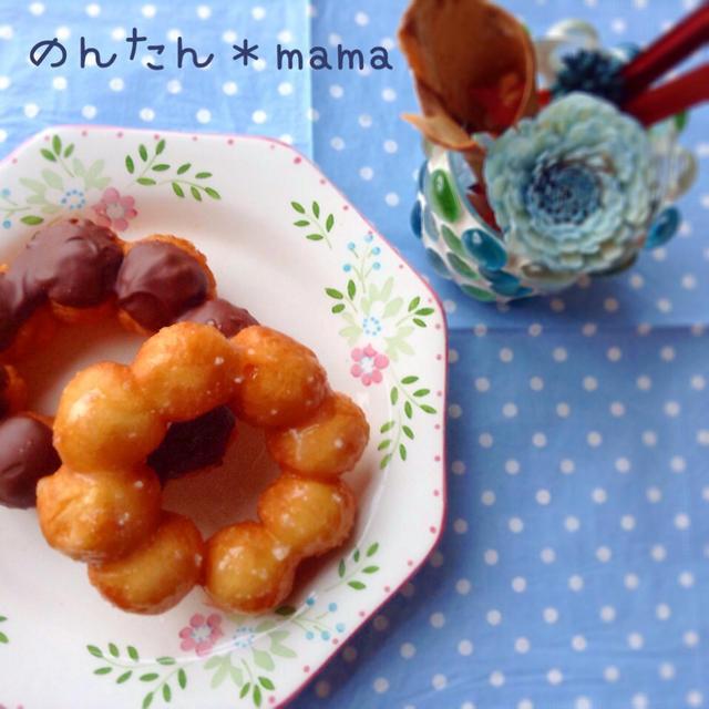 【子供が喜ぶお菓子】ホットケーキミックスで♥ほんとにポンデリングのレシピ
