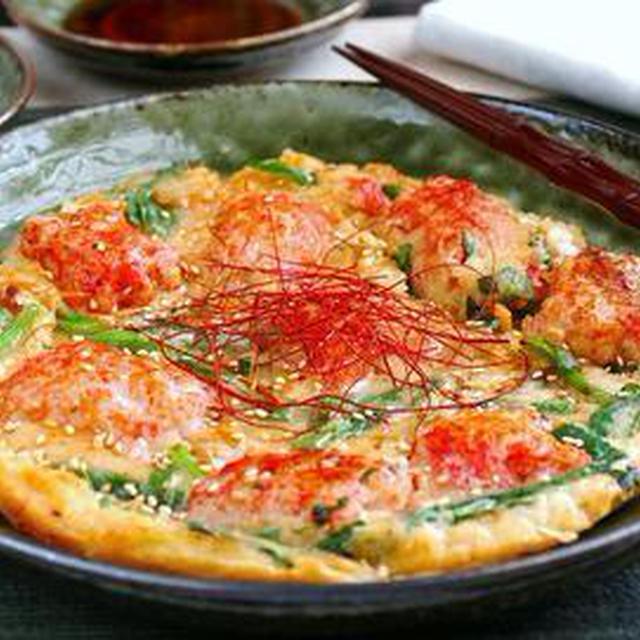 海鮮チヂミのレシピ