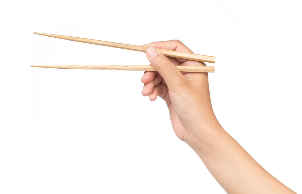 割り箸の使い方のマナー
