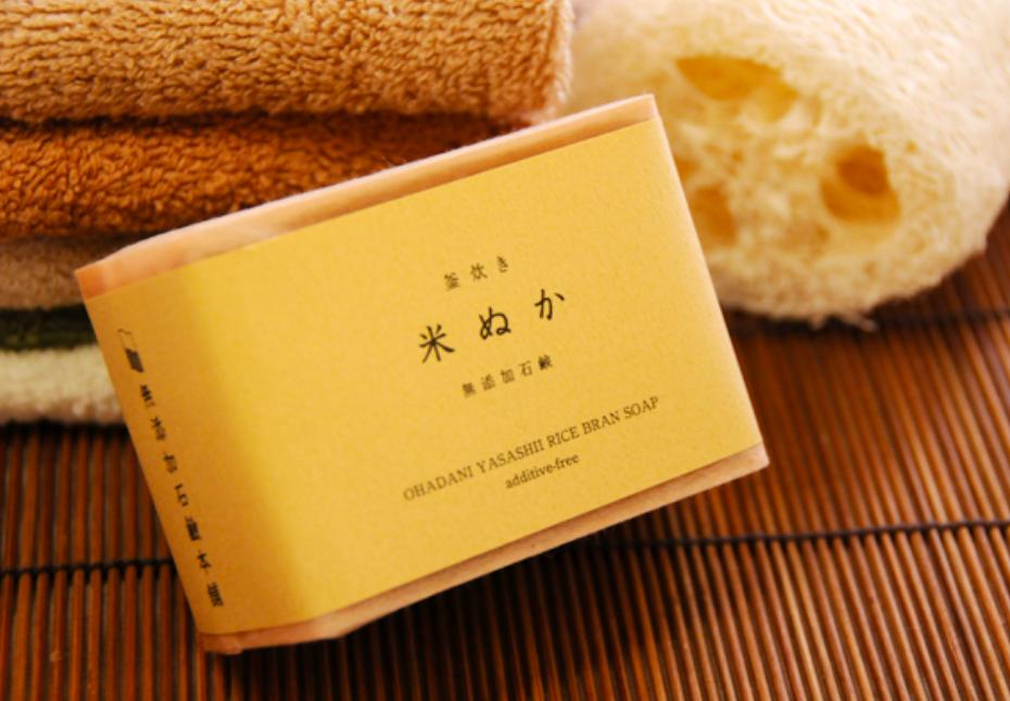 無添加石鹸本舗 米ぬか石鹸
