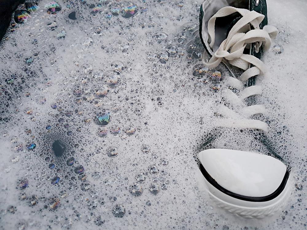 スニーカーの洗濯