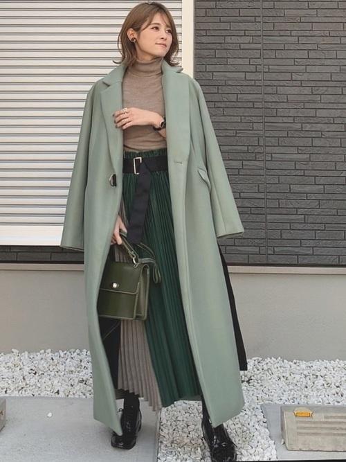 チェスターコートを使った仙台の服装