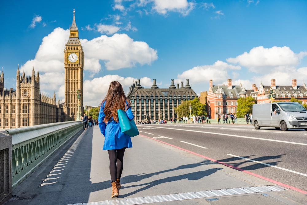 イギリスロンドンでの女子一人旅