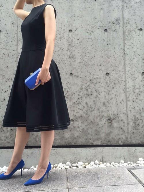 FOXEY NY サーキュラースカートドレス