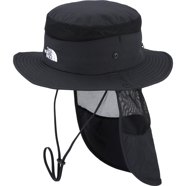日焼けしにくいノースフェイスの帽子