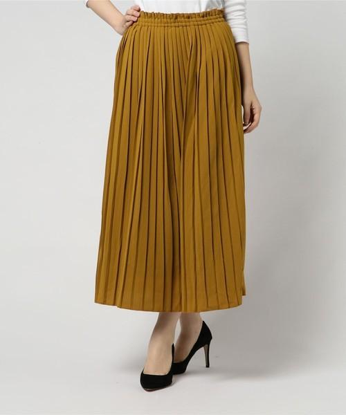 イエローのスカート