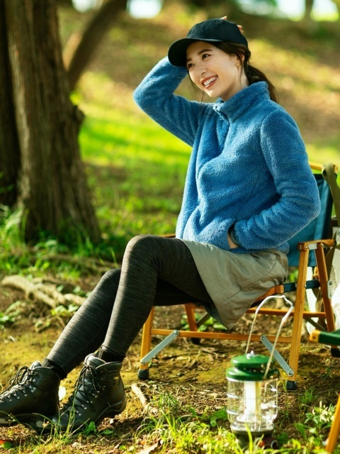 秋のキャンプにおすすめの服装