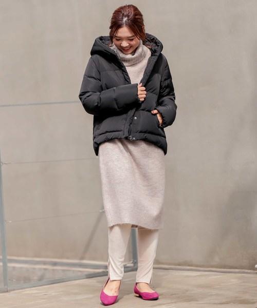 冬の散歩に適した服装