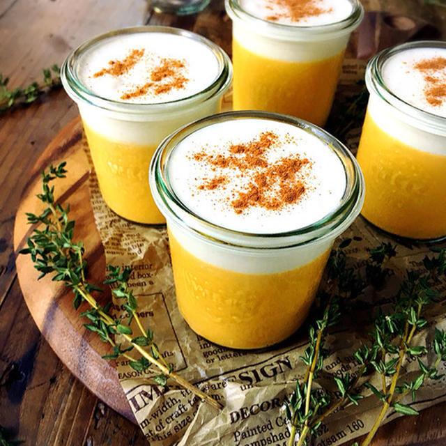 卵なしかぼちゃのプリン