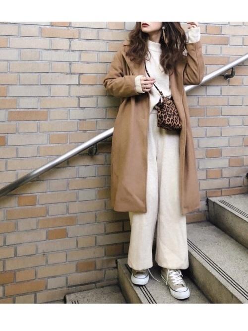 チェスターコートを使った富山の服装