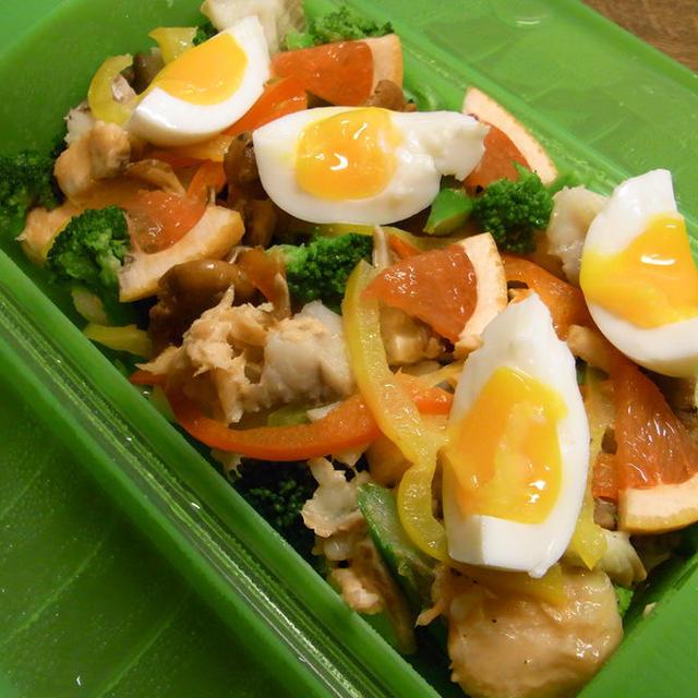 レンジで、野菜たっぷり蒸し魚(ルクエを使って)のレシピ