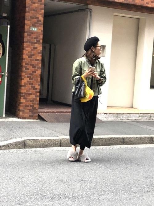 広島旅行の夏のコーデ