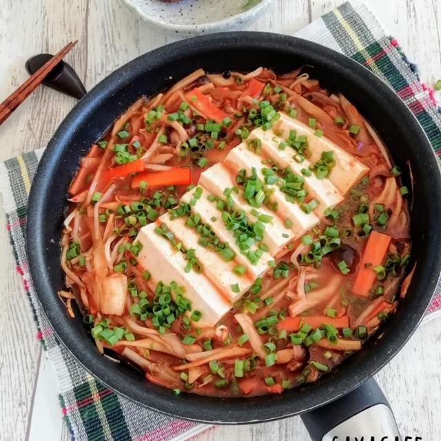 スンドゥブ風豆腐チゲ鍋