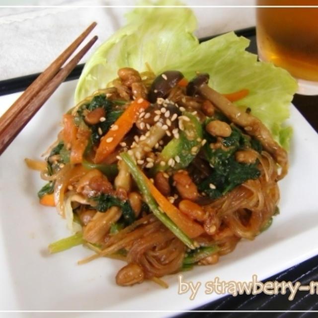 納豆チャプチェのレシピ