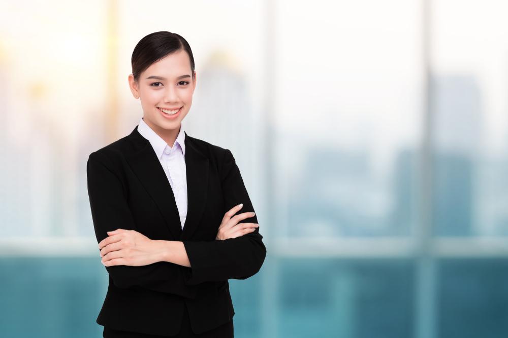就活中の女性