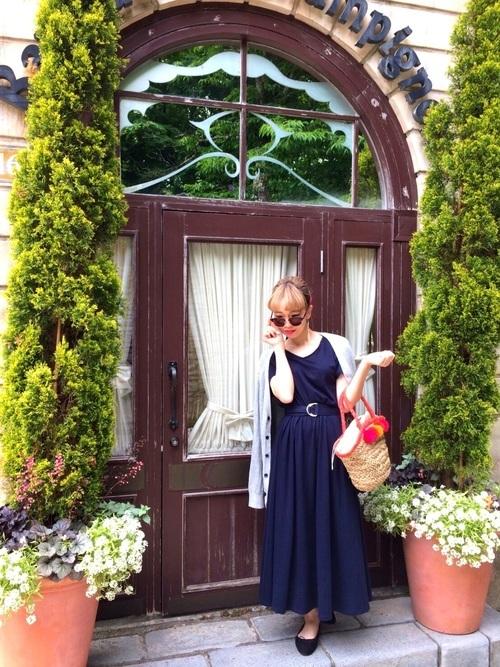 箱根の夏コーデ