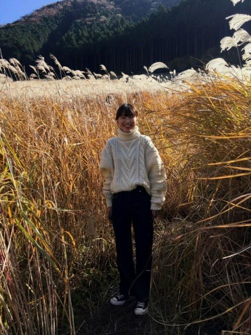 箱根の秋コーデ